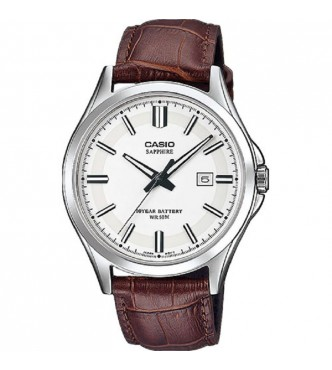 CASIO MTS-100L-7AVEF New Sapphire Basic MTS-100 Leather band Casio Collection