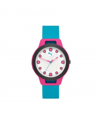 PUMA WATCH P1012 RESET ROUND SILICONE RESET POLYCARBONATE CLEAR