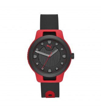 PUMA WATCH P5001 RESET ROUND SILICONE RESET POLYCARBONATE CLEAR