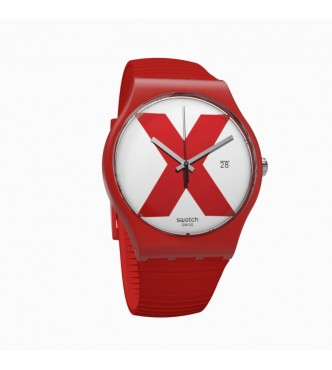 SWATCH SUOR400 XX-RATED RED 1804 The X-Vibe
