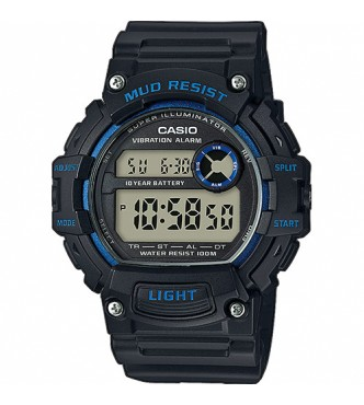 CASIO TRT-110H-2AVEF Front  Button with Mud Resst Structure Casio Collection